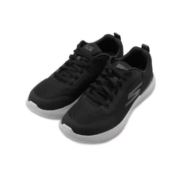 SKECHERS 慢跑系列 GO RUN 400 V2 綁帶運動鞋 黑 220028BKGY 男鞋