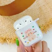 蘋果 AirPods 保護套 交換禮物 森林動物 Apple 藍牙 耳機盒 矽膠 軟殼