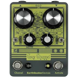 美國 Earthquaker Device Gray Channel Overdrive 破音 效果器 總代理公司貨 保固一年