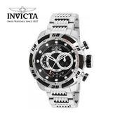 【INVICTA】新一代極致繩索腕錶 鋼鍊款 52mm - 銀黑款