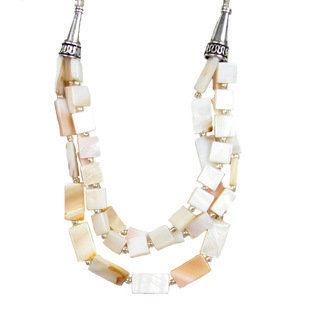 約定幸福多層短款貝殼項鏈 necklace波西米亞