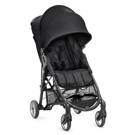 Baby jogger - City mini zip 輕旅行升級版 - 黑【贈杯架】【佳兒園婦幼館】