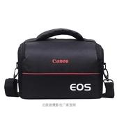 佳能相機包側背攝影包單反包1300d 1200d600d700d760d750 美物