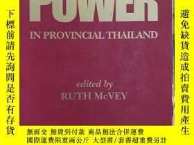 二手書博民逛書店Money罕見& Power in Provincial ThailandY397021 Ruth McVey