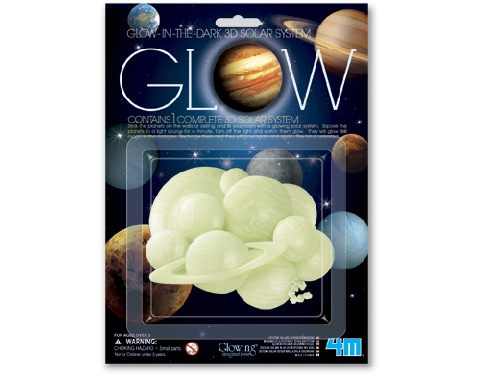 【4M】05423 美勞創作-3D立體太陽系貼片 Glow 3D Solar System