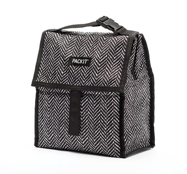 美國PACKiT多功能冷藏袋 (黑白幾何) 原廠平輸