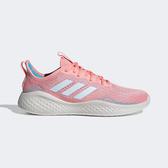 Adidas Fluidflow [EG3670] 女鞋 慢跑 運動 休閒 輕量 支撐 緩衝 彈力 避震 愛迪達 粉 藍