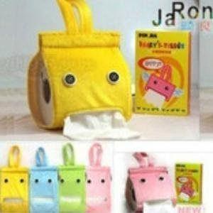 可愛懶人布藝紙巾抽 OPP袋子/顏色隨即發 10個