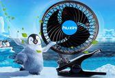 湖鑫 超安靜 6吋 超強力 渦流風扇 鱷魚夾式 快速循環扇 內降溫 循環效果 電風扇 車用風扇 冷風扇
