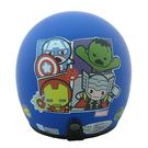 【東門城】EVO 智同 CA-309 復仇者聯盟Q版(消光藍) 兒童半罩式安全帽