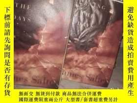 二手書博民逛書店BURNING罕見THE DAYS》精裝本,毛邊書,小16開Y9916 英文 英文 出版1997