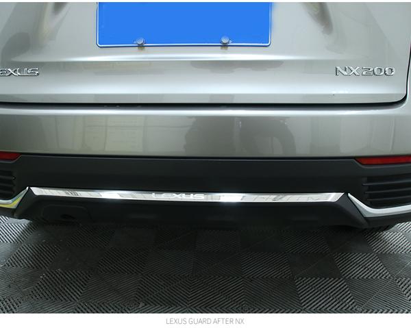 鑑賞期15天*LEXUS NX200車身飾條 NX300h NX200t 改裝飾條 後保險桿裝飾汽車配件 後保桿飾條