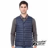 PolarStar 中性 內穿羽絨背心『黑藍』P18245 登山 露營 保暖 禦寒 防風 鋪棉 羽絨 夾克