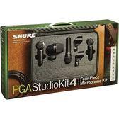 【金聲樂器】SHURE PGADRUMKIT4 Drum Microphone Kit 鼓類收音麥克風組 原廠公司貨