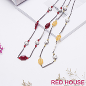 Red House 蕾赫斯-閃耀串珠長項鍊(共2色)