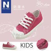 休閒鞋.防潑水餅乾鞋(桃粉)-KID-FM時尚美鞋-Neu Tral.Fall