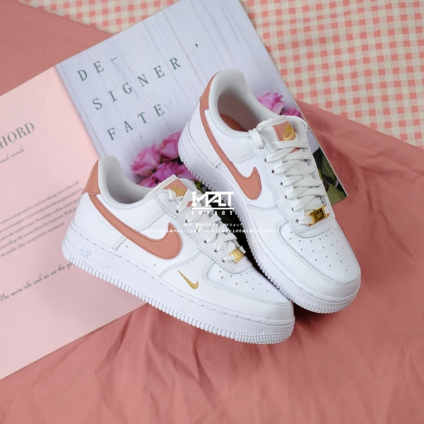 IMPACT Nike Air Force 1 Low Rust Pink 玫瑰粉 金勾 雙勾 CZ0270-103