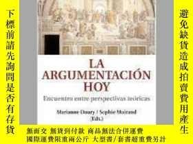 二手書博民逛書店La罕見argumentacion hoy  The Today ArgumentY405706 Marian