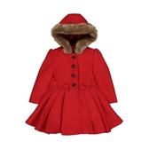 mothercare 紅毛呢氣質大衣-外出系列(M0QB435)12個月、18個月、36個月