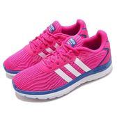 【六折特賣】adidas 慢跑鞋 Cloudfoam Speed W 粉紅 藍 基本款 女鞋 運動鞋【PUMP306】 F99563