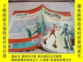 二手書博民逛書店ROBOTS罕見THE MOVIES STORYBOOK《機器人電影故事書》Y200392