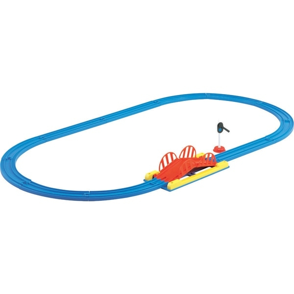 《 TAKARA TOMY 》PLARAIL 鐵路王國系列 - 火車軌道組A / JOYBUS玩具百貨
