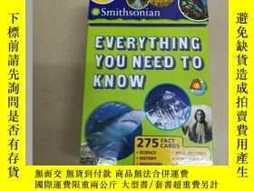 二手書博民逛書店Smithsonian罕見Everything You Need