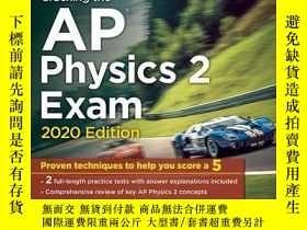二手書博民逛書店破解AP物理學2考試2020英文原版Cracking罕見the