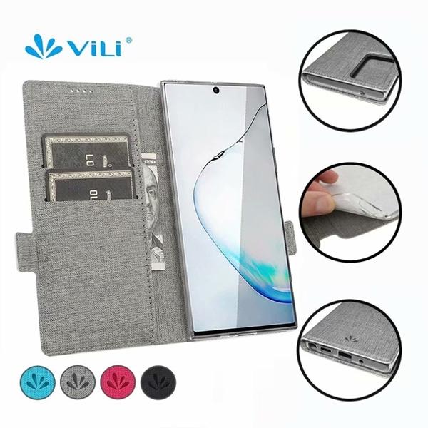 三星 S20 FE VILI皮套 手機皮套 插卡 支架 掀蓋殼 內軟殼 隱形磁扣