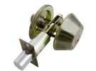 D101-AB 青古銅 輔助鎖 補助鎖 防盜鎖 適用 鋁 硫化銅門 木門 大門 一般房門 (60mm、扁平鑰匙)