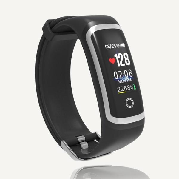 限定款智慧手環 血壓手環 測心率血壓血氧睡眠監測計步防潑水運動健康智慧型手錶智慧手環jj
