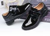 男童小皮鞋 男童小皮鞋春秋款黑色英倫風韓版軟底休閒演出真皮兒童鞋  寶貝計畫