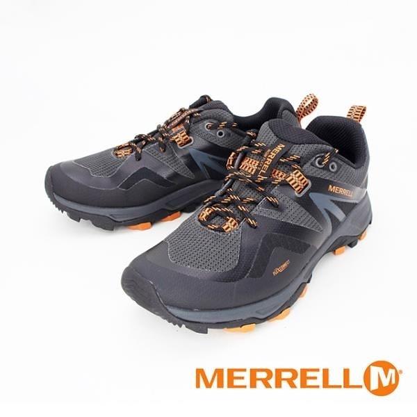 【南紡購物中心】MERRELL(男)MQM FLEX 2 MID GORE-TEX郊山健行鞋 男鞋 - 黑桔
