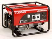 [ 家事達 ]日本原裝ELEMAX-本田引擎 電動/手拉 發電機(110/220V) 7600W