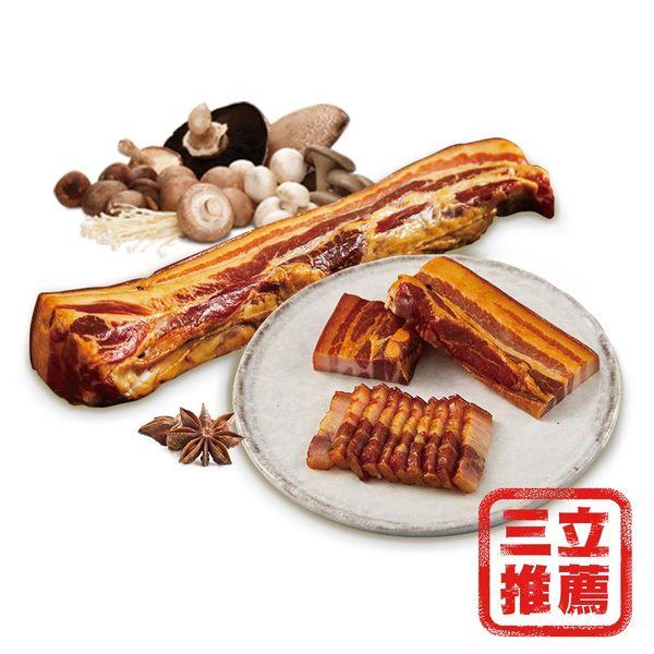 【中晏生機】四代祖傳手工松香豬冷燻後腿肉4條組-電電購