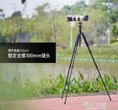 Manbily/曼比利CZ-303三腳架碳纖維單反相機便攜佳能三角架小支架QM『櫻花小屋』