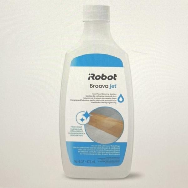[8美國直購] 硬地板清潔劑 Braava jet Hard Floor Cleaner Compatible with all Braava Robot Mops 4632813