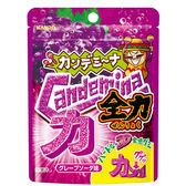 日本甘樂全力造型軟糖-葡萄風味汽水37g【愛買】