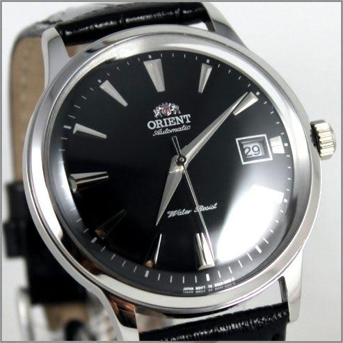 【萬年鐘錶】ORIENT 東方 復古型機械皮表 FER24004B