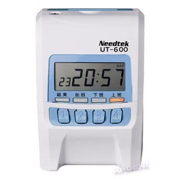 電子打卡鐘Needtek優利達UT-600小型電子打卡鐘