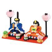 《 Nano Block迷你積木 》NBH-171雛人形╭★ JOYBUS玩具百貨
