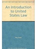 二手書博民逛書店 《An introduction to United States law》 R2Y ISBN:0444110593│PeterHay