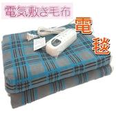 微電腦溫控雙人電毯 電熱毯 高級發熱刷毛材質 表面像毛毯舒適/另售單人電毯 【老婆當家】