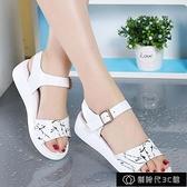女士涼鞋 夏季新款涼鞋女士平底百搭涼鞋女厚底防滑涼鞋網紅同款涼鞋女