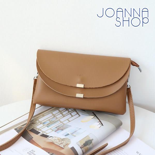 斜背包 梅維斯雙層收納斜背包-Joanna Shop