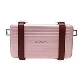 Dior 迪奧 粉色鋁質小牛皮旅行箱小盒子肩背斜背包2DRCA295YWT_H30E 【BRAND OFF】