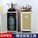 鋁合金煤氣瓶罐架灶台架子水桶櫃現代簡易廚房櫥櫃置物櫃廚房架子