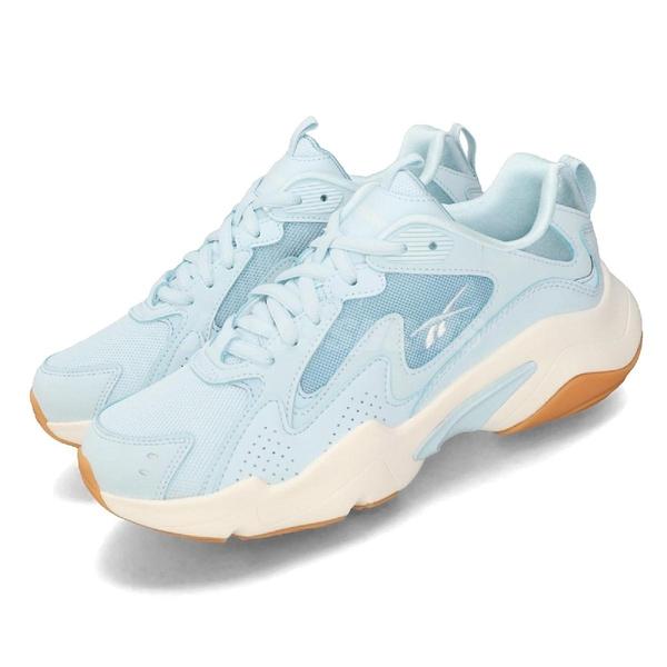 Reebok 休閒鞋 Royal Turbo Impuls 藍 白 女鞋 運動鞋 老爹鞋 【ACS】 EH3466