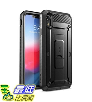 手機保護殼 iPhone XR Case, SUPCASE Full-Body Rugged Holster Case with Built-in Screen Protector