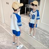 3男童春裝2020新款套裝4韓版5潮衣6春季7兒童裝8短袖9兩件套10歲 美芭